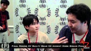 Final Round XV Guilty Gear XX Accent Core Champion Kusoru Interview