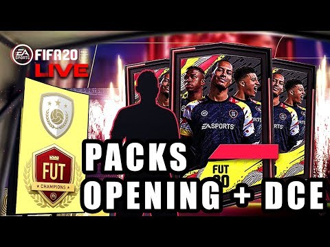 🔴FIFA 20 - PACKS OPENING + SOLUCES DCE