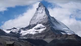 Camping Attermenzen Zermatt.  The Matterhorn and Glacier Paradise