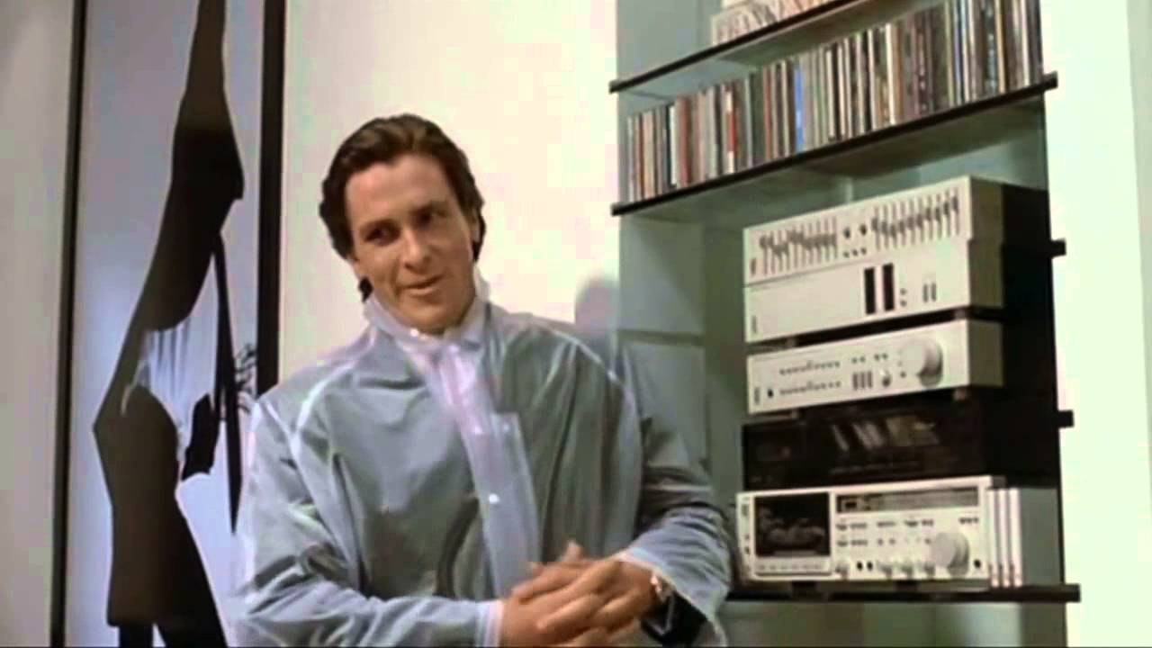 American Psycho Do You Like Phil Collins Youtube