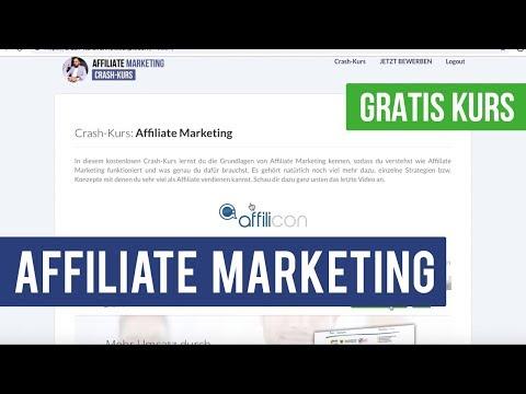Affiliate Marketing - GRATIS-KURS (Online Geld verdienen als Affiliate)