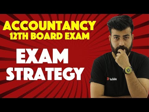 How to attempt Accounts Paper - Class XII Boards #teamcommercebaba