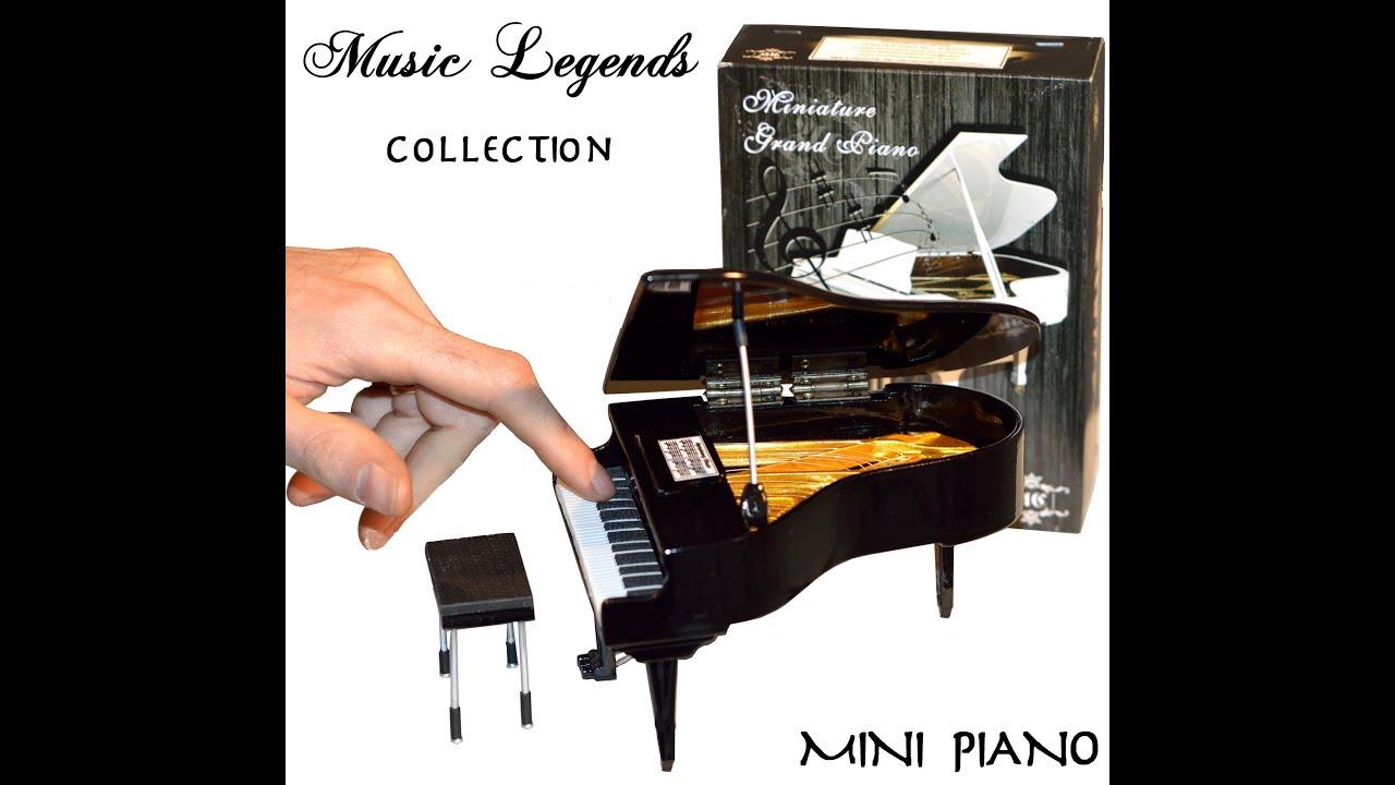 Miniature piano hand crafted ornamental classic piano for Small grand piano size