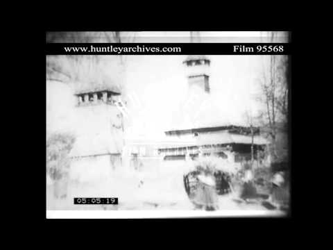 Ruthenian wooden church.  Archive film 95568