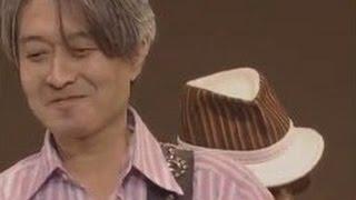 2005年時の、かしぶちさん、病気から復帰のステージ(アンコールで)=◇...