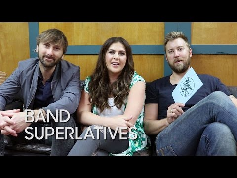 Band Superlatives: Lady Antebellum
