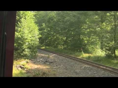 Harzquerbahn Ride: Eisfelder Talmühle To Benneckenstein