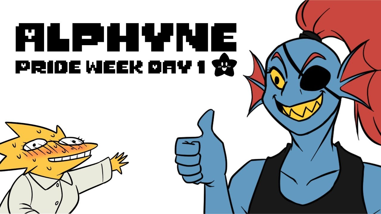 Alphys x Undyne (Undertale Comic Dub) 🏳️🌈 Pride Week Day 1🏳️🌈