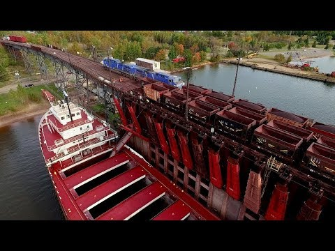 TRRS 517: Michigan's Iron Ore Trail: The Lake Superior and Ishpeming Ore Dock