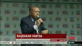 Başbakan Erdoğan'ın sesinin kısılması.
