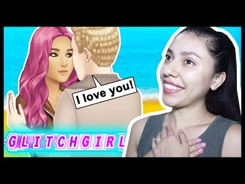 MY FIRST KISS WITH A SUPERHERO! - GLITCH GIRL (Episode 4) - App Game