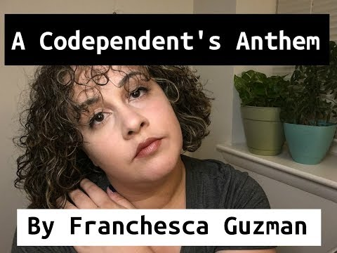 Poetry | A Codependent's Anthem