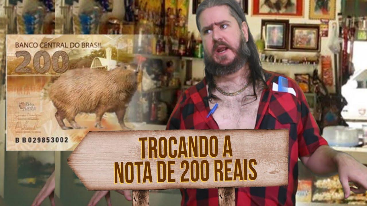 Plantão do Chico: Trocando a Nota de 200 Reais #Notade200 #ChicoDaTiana