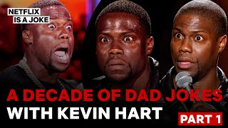 A Decade of Dad Jokes With Kevin Hart