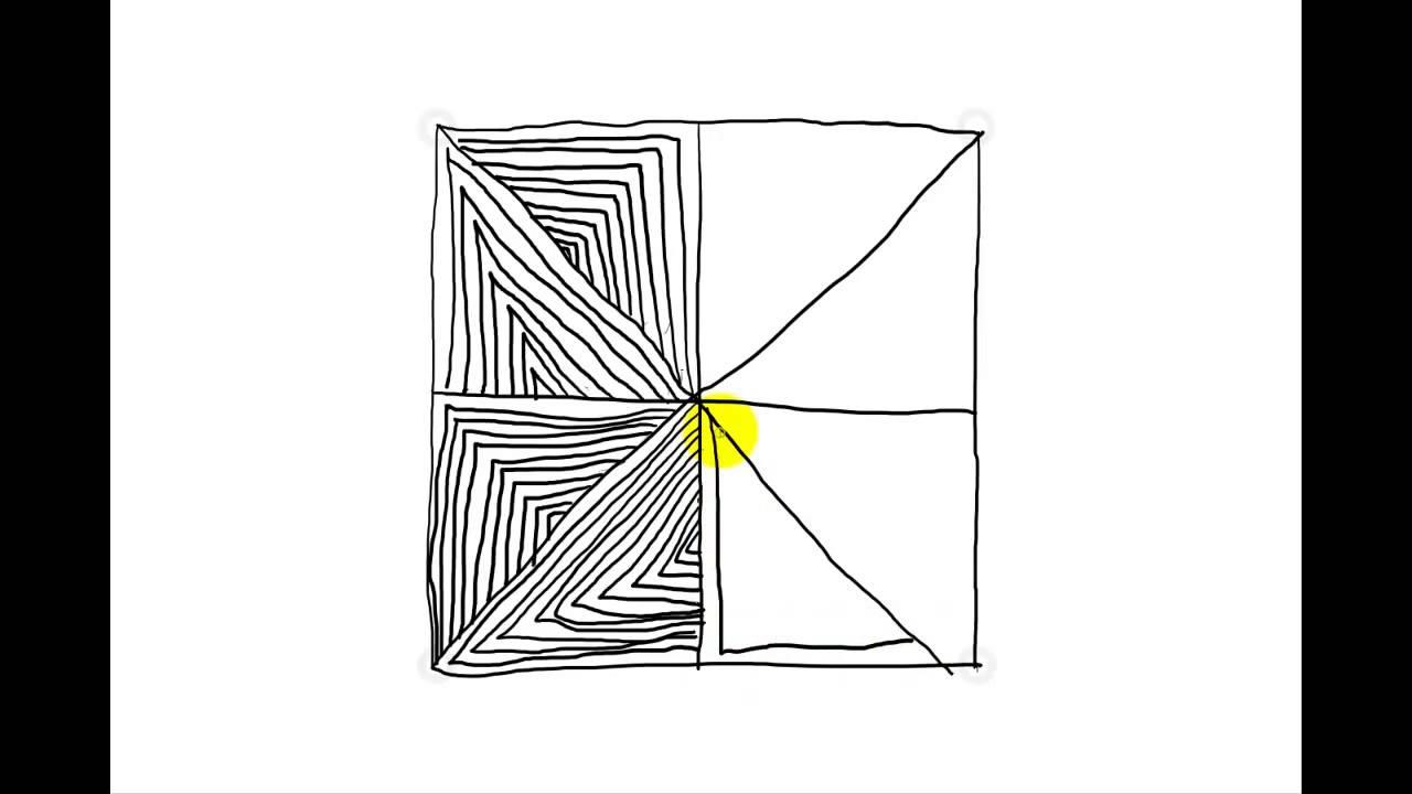 Zentangle Pattern Tutorial - Maryhill - YouTube