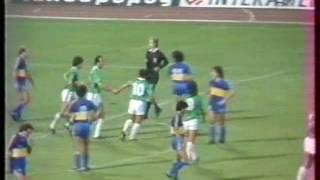 Παναθηναϊκός-Μπόκα Τζούνιορς 2-3 (1984)