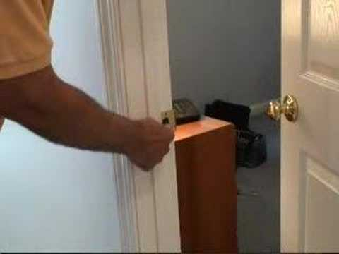 Fixing A Door Latch Video Youtube