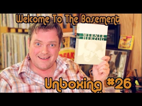 Werner Herzog! Unboxing (Welcome To The Basement)