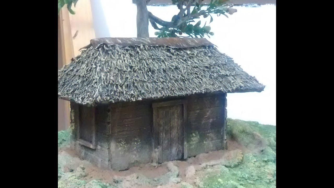 Como hacer una replica de una caba a facil y rapido youtube - Como construir una cabana ...