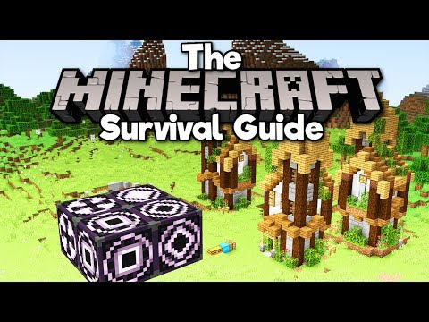 How To Use Structure Blocks! ▫ The Minecraft Survival Guide (Tutorial Let's Play) [Part 257]
