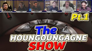 CS:GO - TV QUIZ SHOW Ft. Youtubers | Part 1 - THE HOUNGOUNGAGNE SHOW