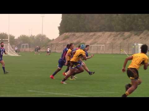 AAA Conf vs Jebel Ali Dragons (17 Feb 2017) Part 1