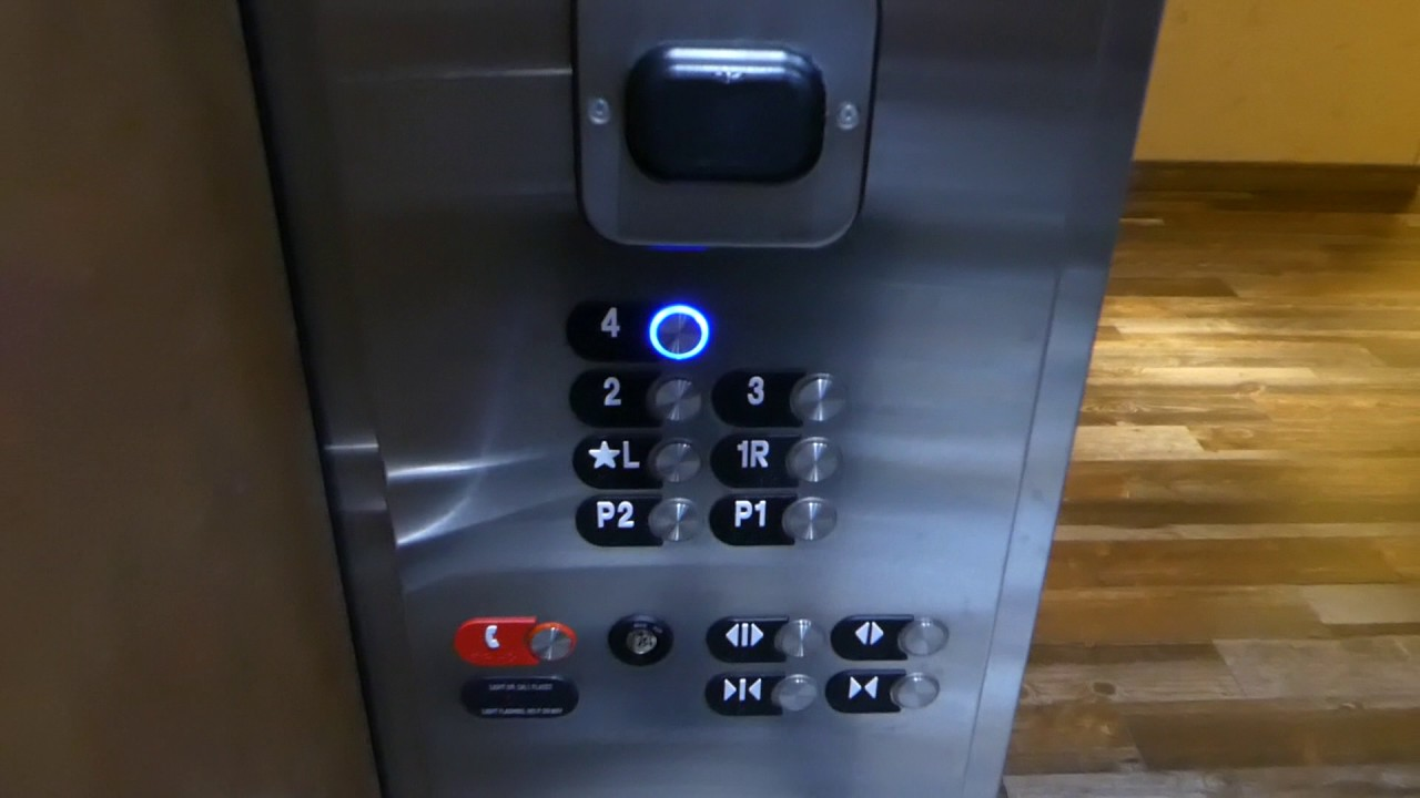 Otis Gen2 MRL Traction Elevators @ Hilton Garden Inn, Burlington, VT