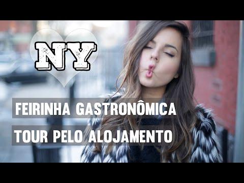 Intercâmbio em NY: Feirinha no Brooklyn, Tour Pelo Alojamento, Comprando Chip de Internet