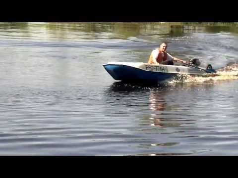 лодка романтика 2 с мотором 5 л.с.