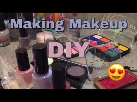 Making Makeup   DIY Kids Makeup