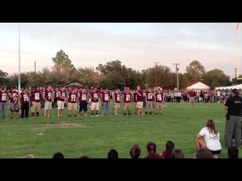 2012 senior Varsity Lee Rebels