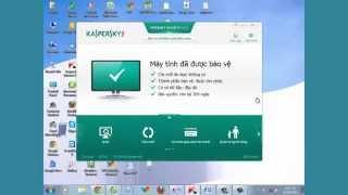 Hướng dẫn Download, Kích Hoạt (activer) Key kaspersky KIS, KAV