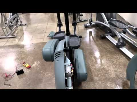 Life Fitness 9500 Cross Trainer Basic Service Tips.