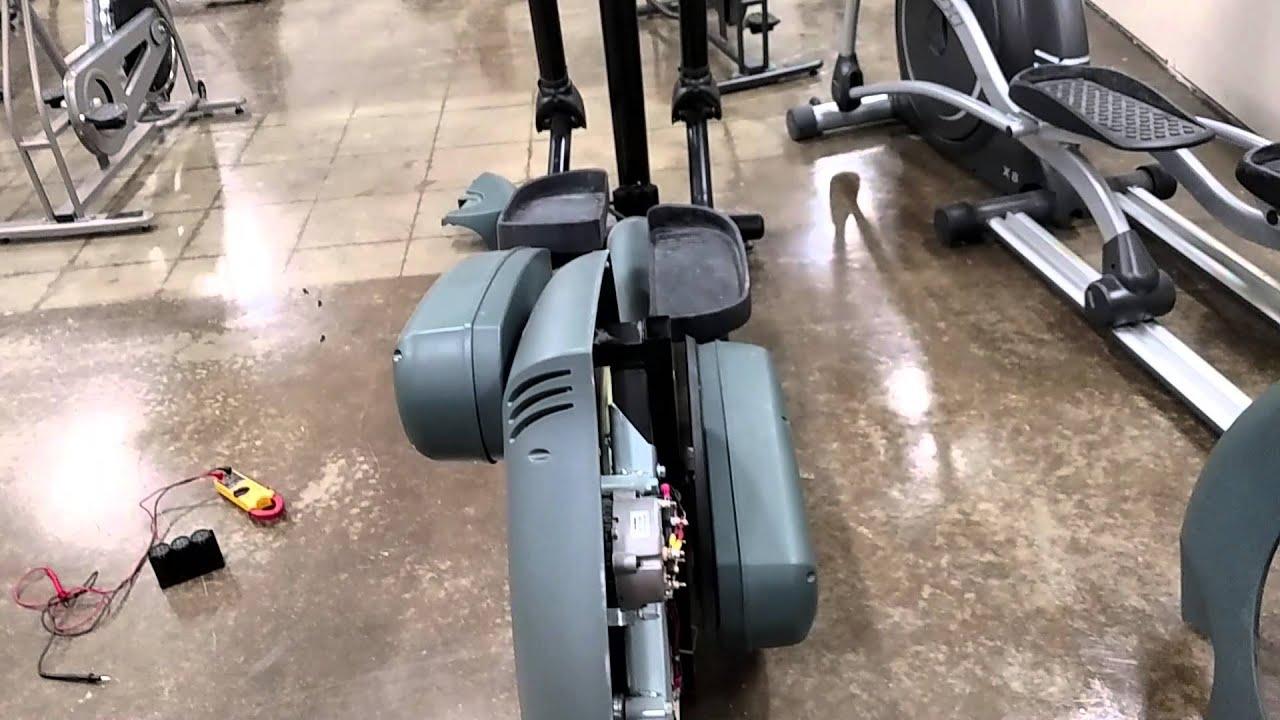 Life Fitness 9500 Cross trainer basic service tips. - YouTube