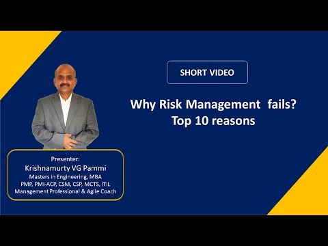 Why Risk Management Fails? - Top 10 reasons