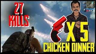27 Kills 5 Flare Gun Chicken Dinner | Jack Shukla Live