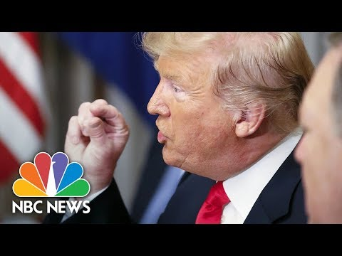 President Donald Trump Criticizes Germany At NATO Breakfast | NBC News