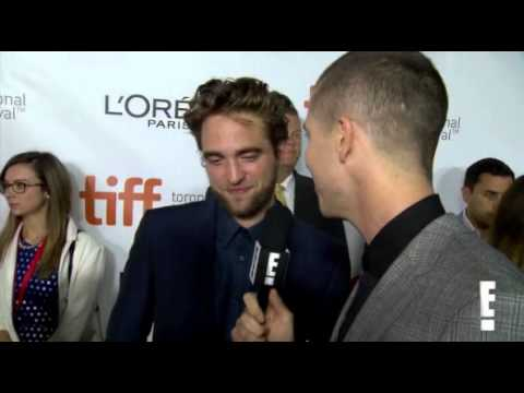 Robert Pattinson talks about his sister Lizzy making it on X Factor to E! at TIFF 2014