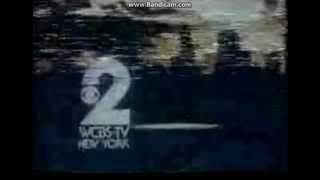 WCBS-TV 2 NY Sign off 1980s