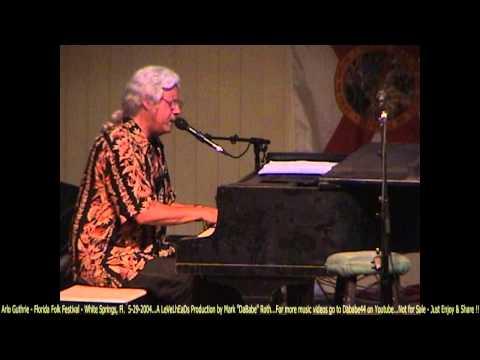 Arlo Guthrie  Florida Folk Festival  White Springs, Fl   5 29 2004