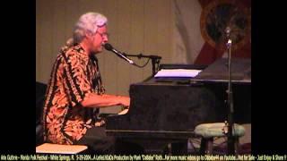 Arlo Guthrie - Florida Folk Festival - White Springs, Fl   5- 29- 2004