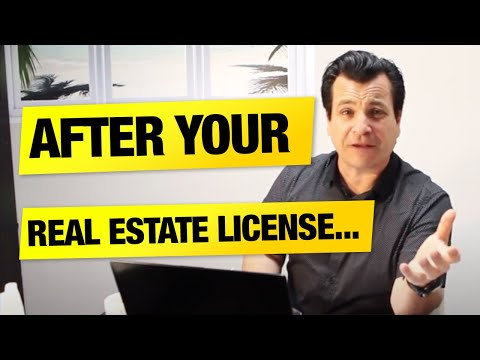 Ep  27: 6 Things To Expect After You Get Your Real Estate License
