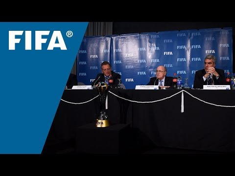 REPLAY: Post-FIFA Executive Committee press conference - 19 December, 2014