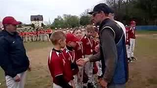 Награждение Чемпионата Украины по бейсболу U12, г.Черноморск