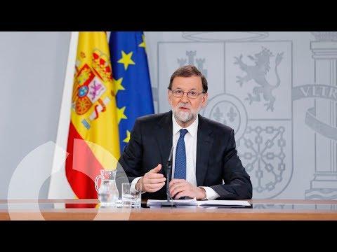 """Mariano Rajoy: """"Esta moción va contra la estabilidad y perjudica la recuperación económica"""""""