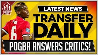 POGBA, SANDRO, FELLAINI! Manchester United Transfer News