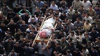 Hamas komutanı Ahmed el-Caberi toprağa verildi