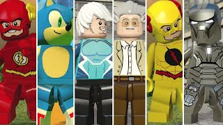 All Speedsters in LEGO Videogames