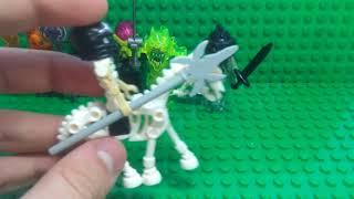 Лего  ужасы (минифигурки монстров)