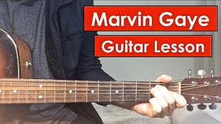 Marvin Gaye - Charlie Puth | Guitar Lesson (Tutorial) Chords